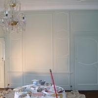 Benoni Mathot - Peinture - Chateau province de Namur